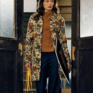 Rosy Posy Sweater Coat